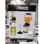 Lot 24 - Princess Piano Blender, Tested working & Boxed
