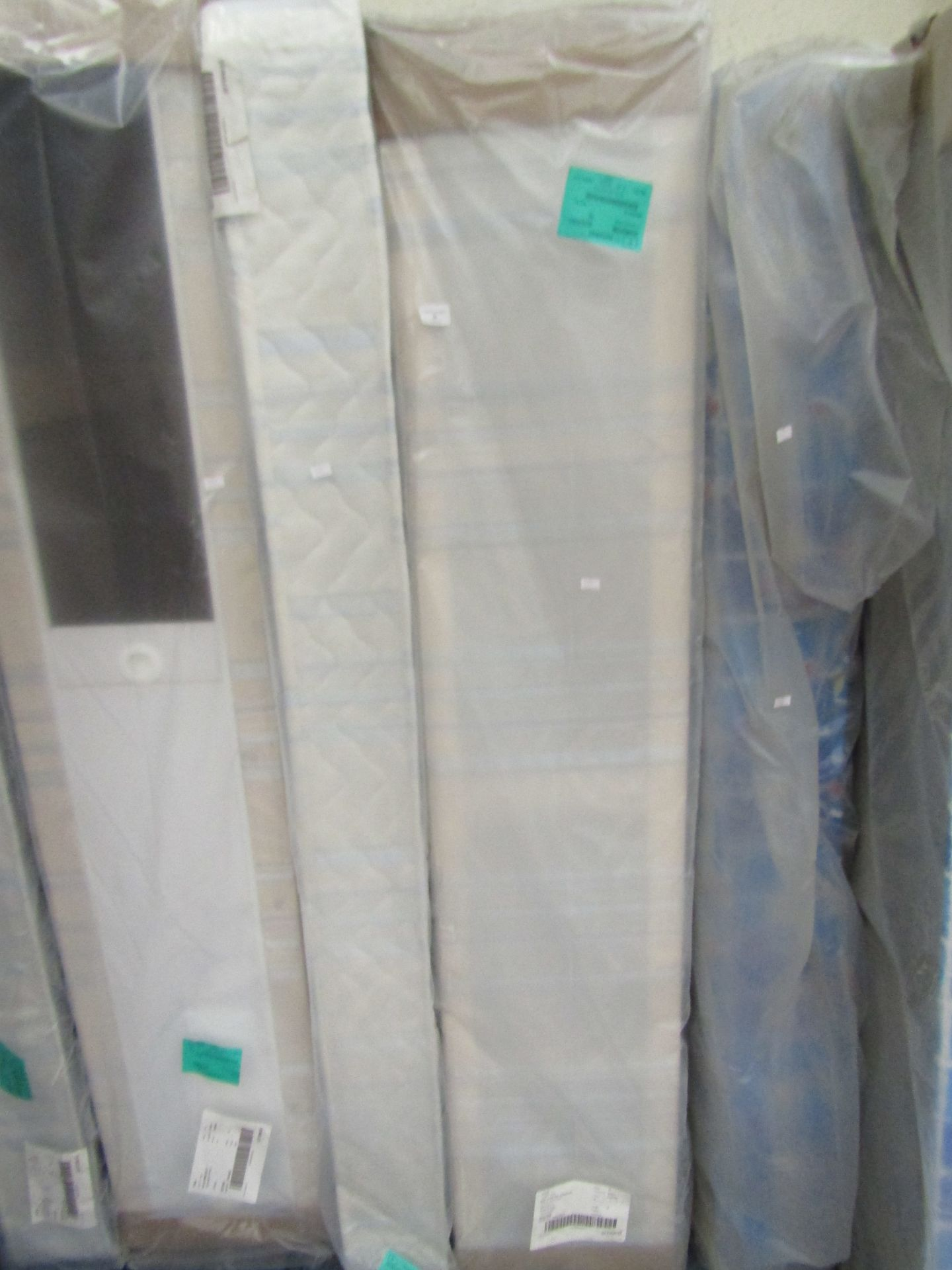Lot 29 - Single mattress with Divan Base