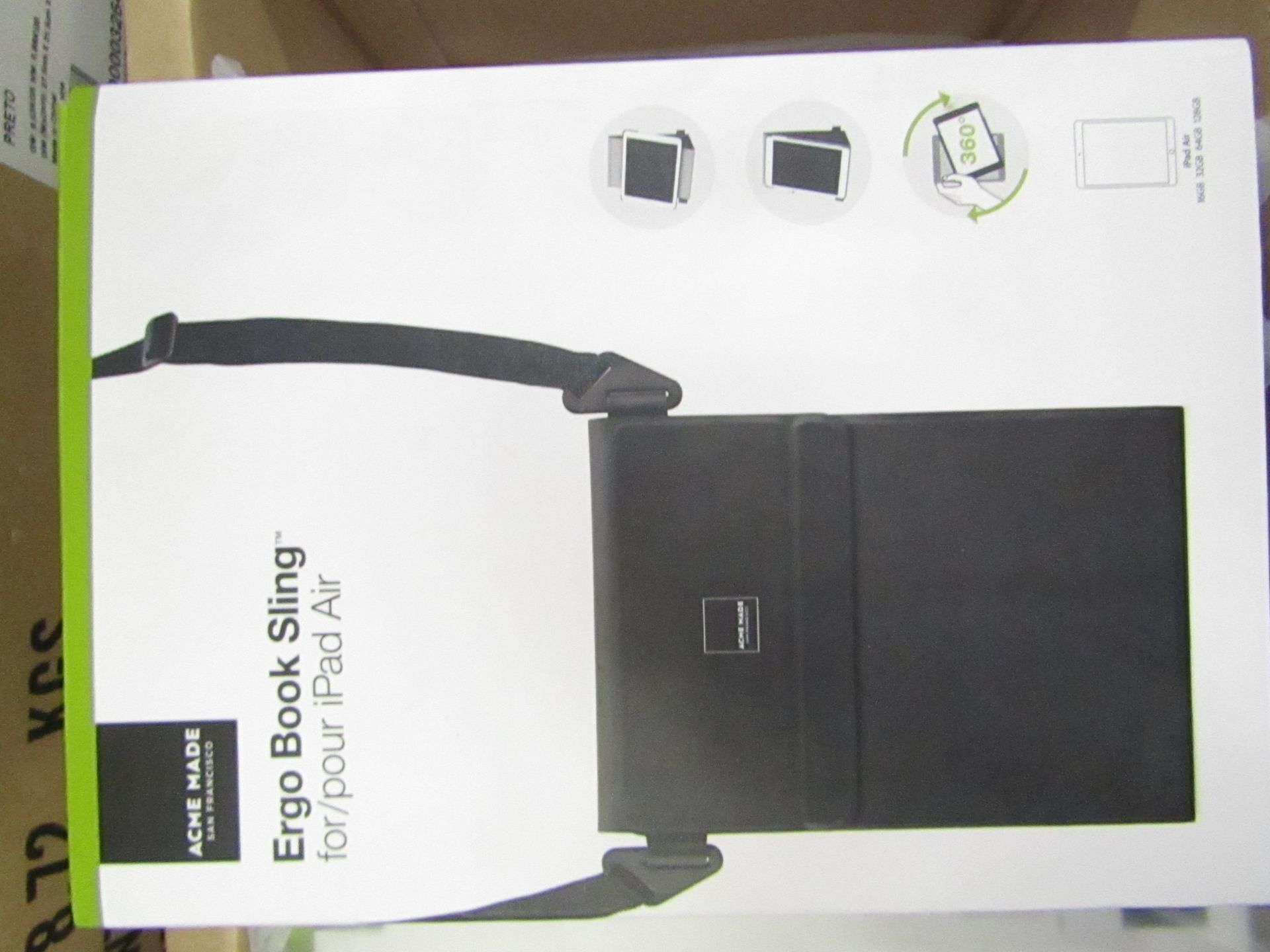 Lot 3 - 10 x Acme Made Ergo Book Sling Cases for iPad Air, new