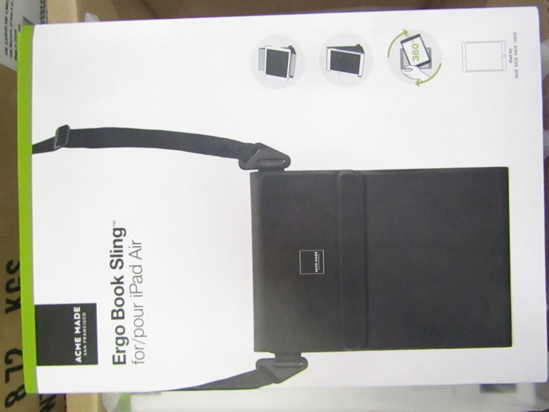Lot 5 - 10 x Acme Made Ergo Book Sling Cases for iPad Air, new