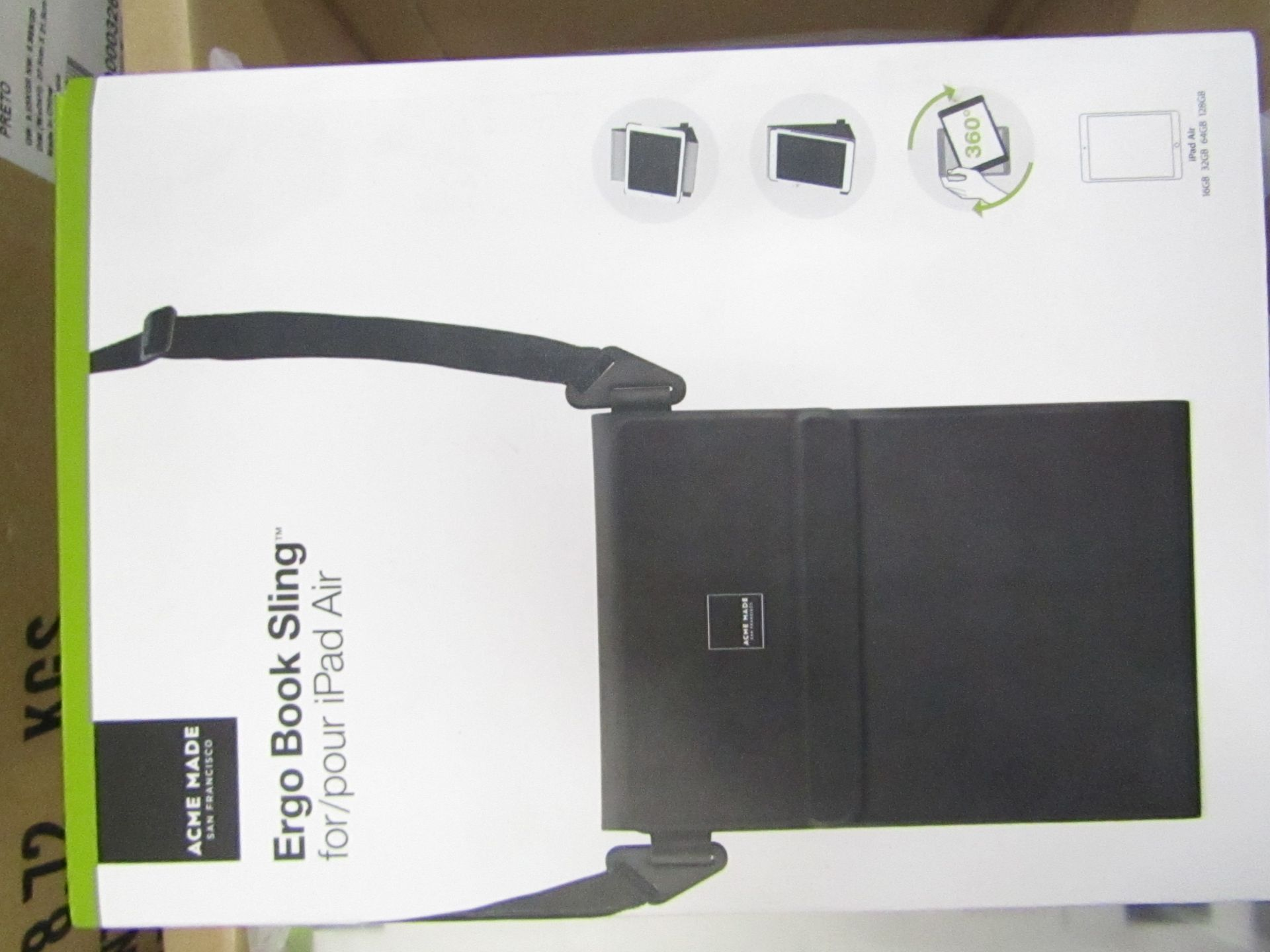 Lot 4 - 10 x Acme Made Ergo Book Sling Cases for iPad Air, new