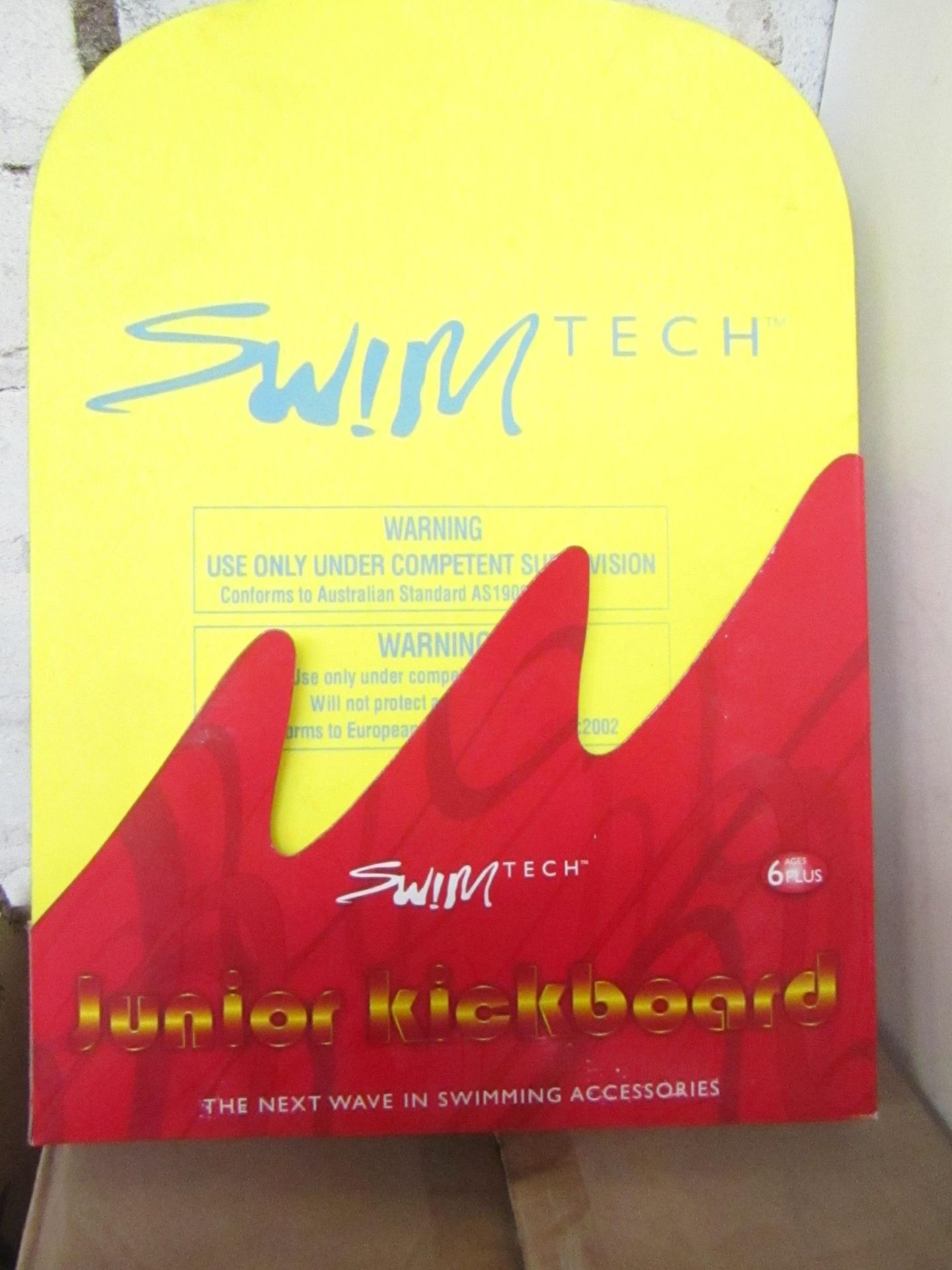 Lot 16 - 5 x Swim Tech Junior Kick Boards new