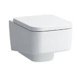 Laufen Pro 25 wall mounted toilet, new and boxed, RRP £257,Does not include Toilet seat