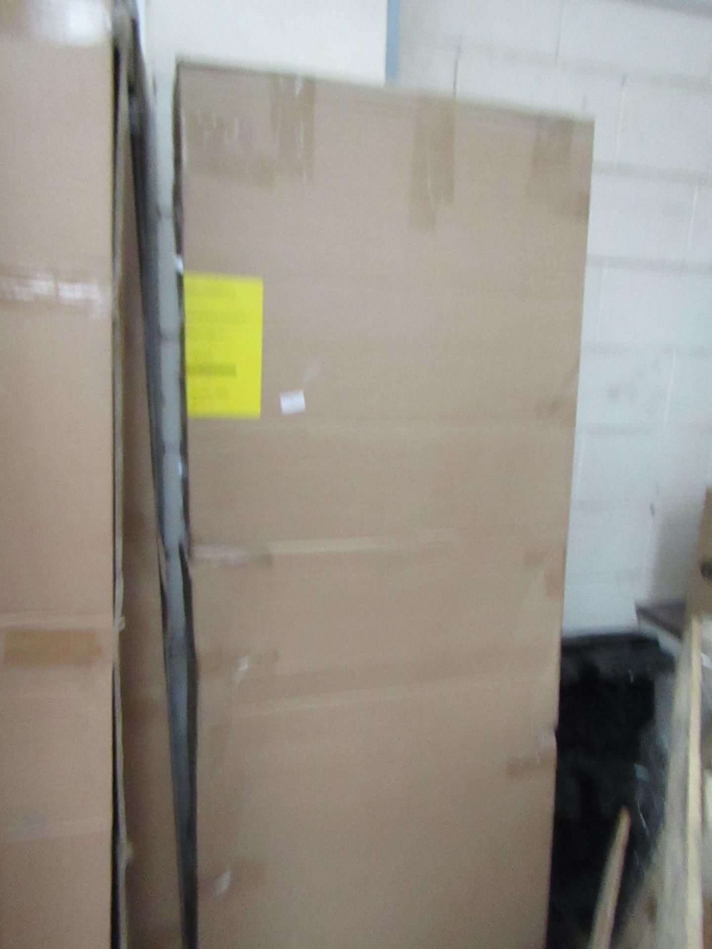 Lot 58 - Manhattan glass Quad shower enclosure (no Tray), 1200x900m, unused and boxed, comes in 2 boxes which