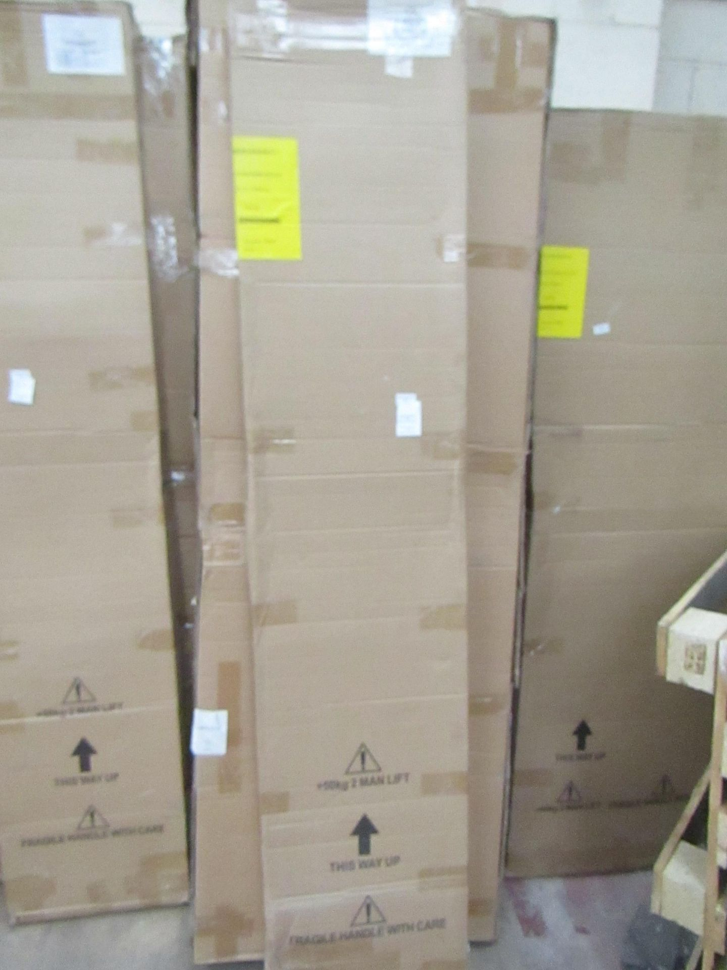 Manhattan glass Quad shower enclosure (no Tray), 800x800m, unused and boxed, comes in 2 boxes - Image 2 of 2