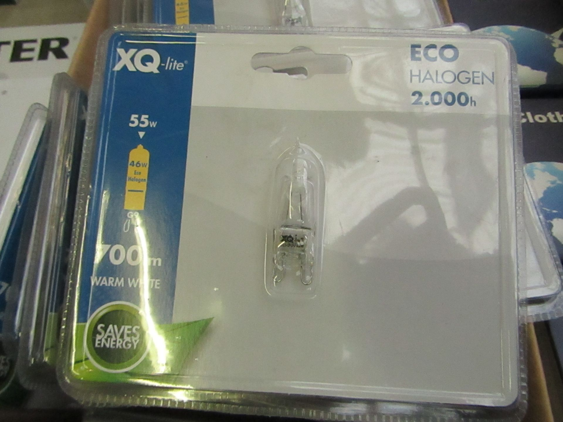 Lot 53 - XQ-Lite halogen bulb, new and packaged.