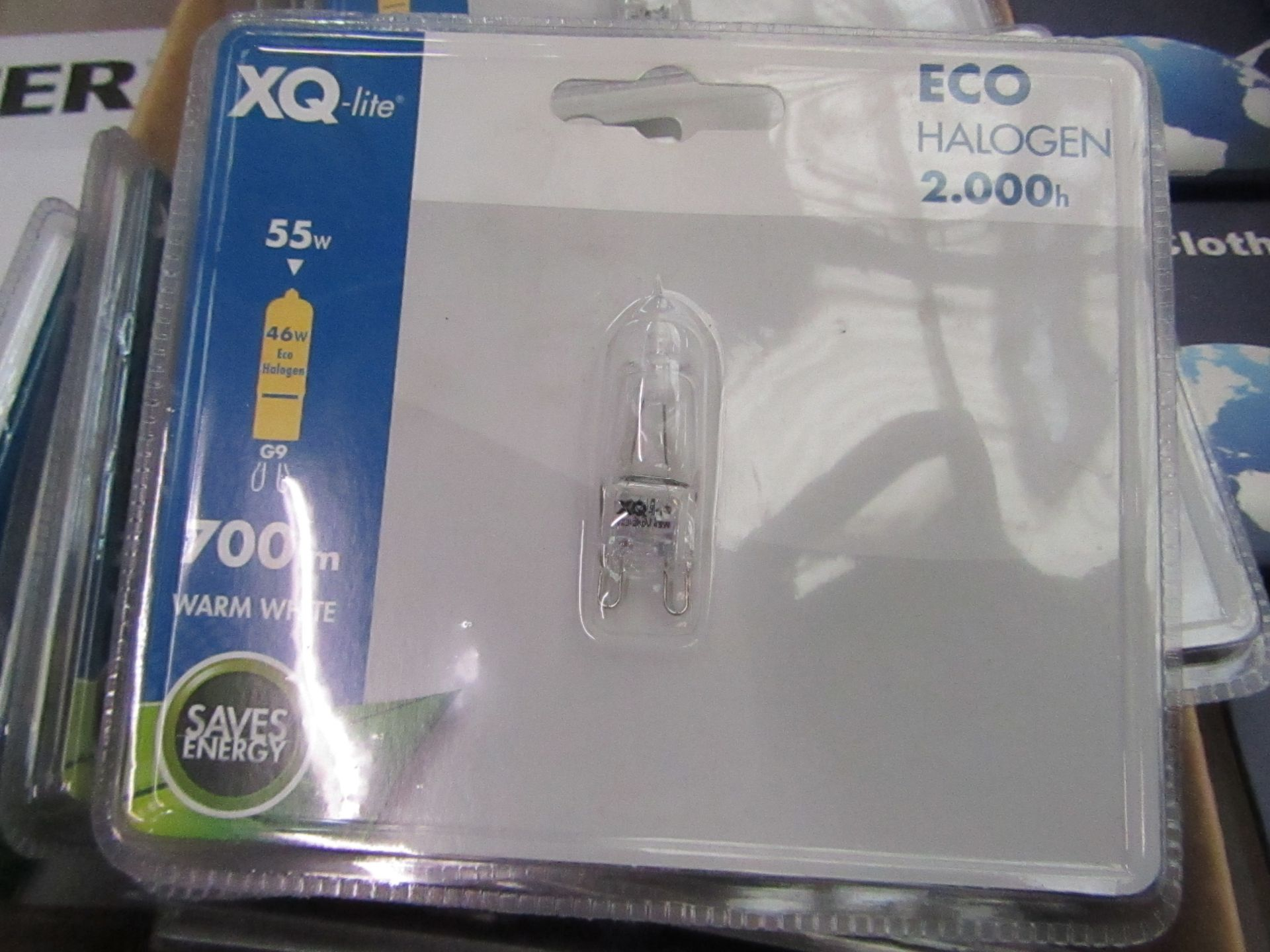 Lot 54 - XQ-Lite halogen bulb, new and packaged.