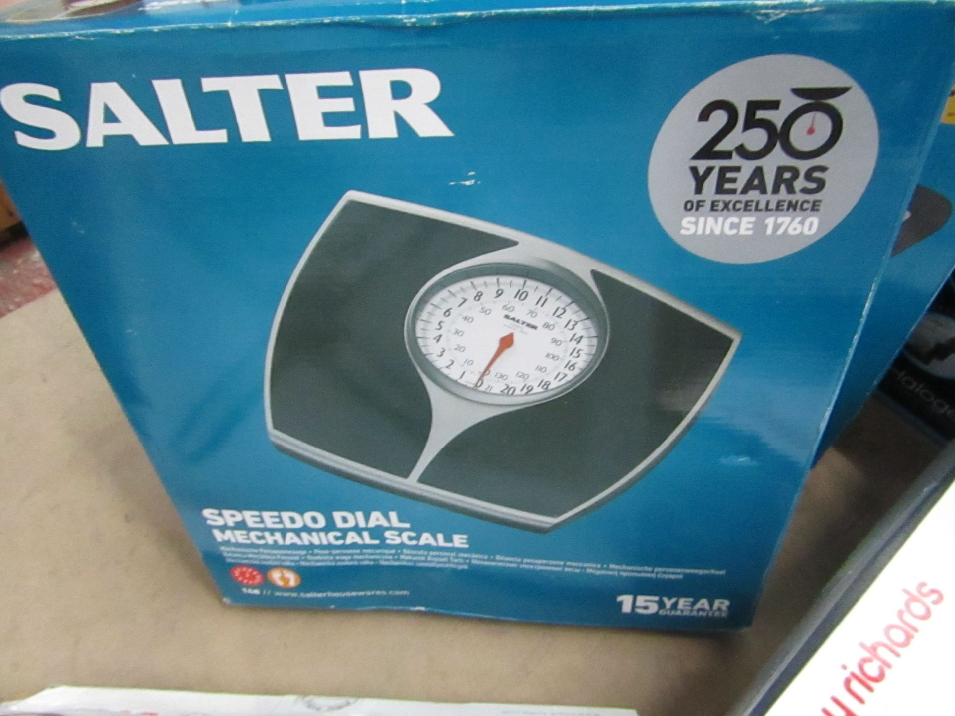 Lot 78 - Salter mechanical scales, untested and boxed.