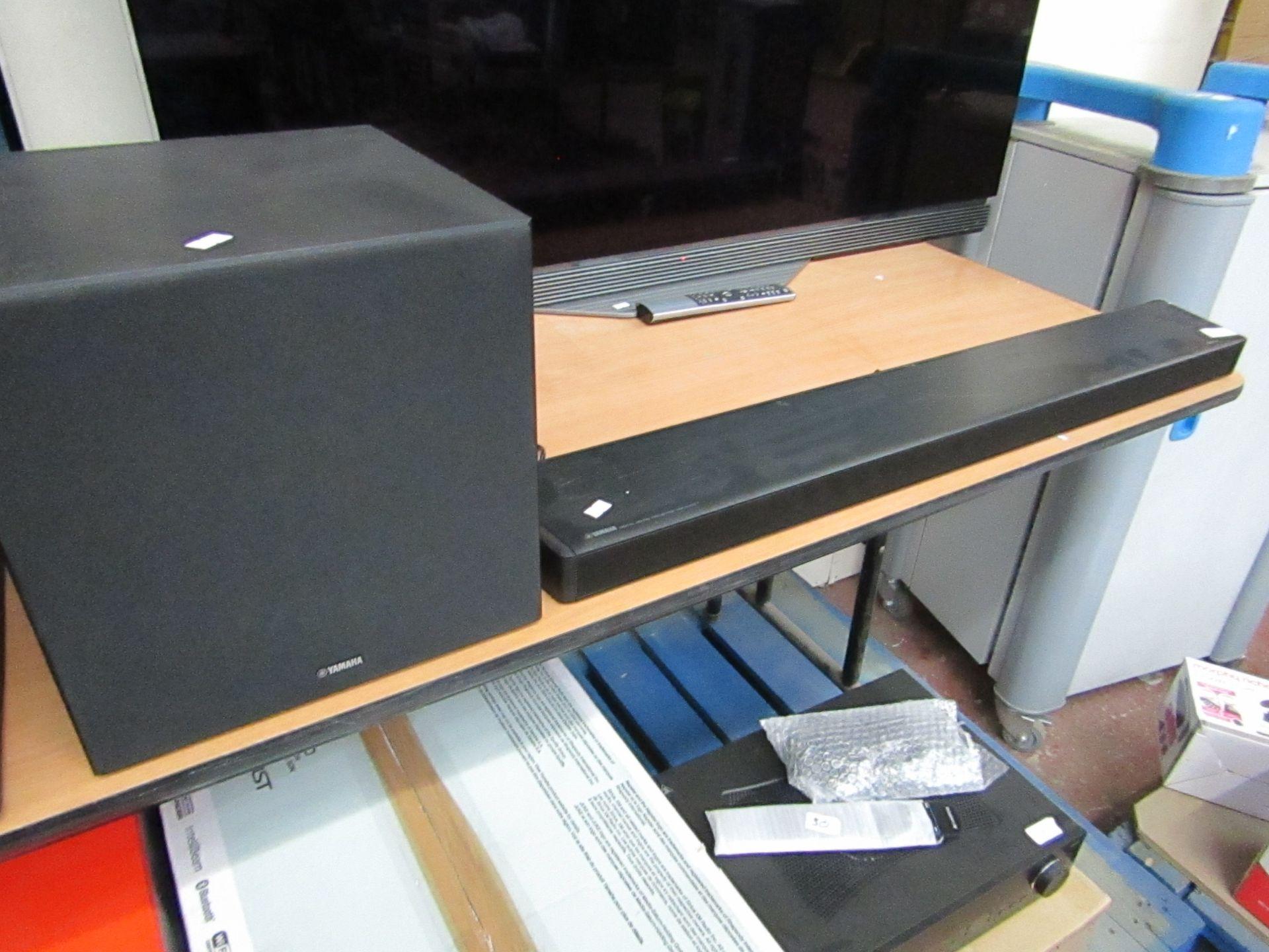 Lot 87 - Yamaha Ysp-2700 Digital Sound Projector - Soundbar plus Subwoofer £549.00, with original box