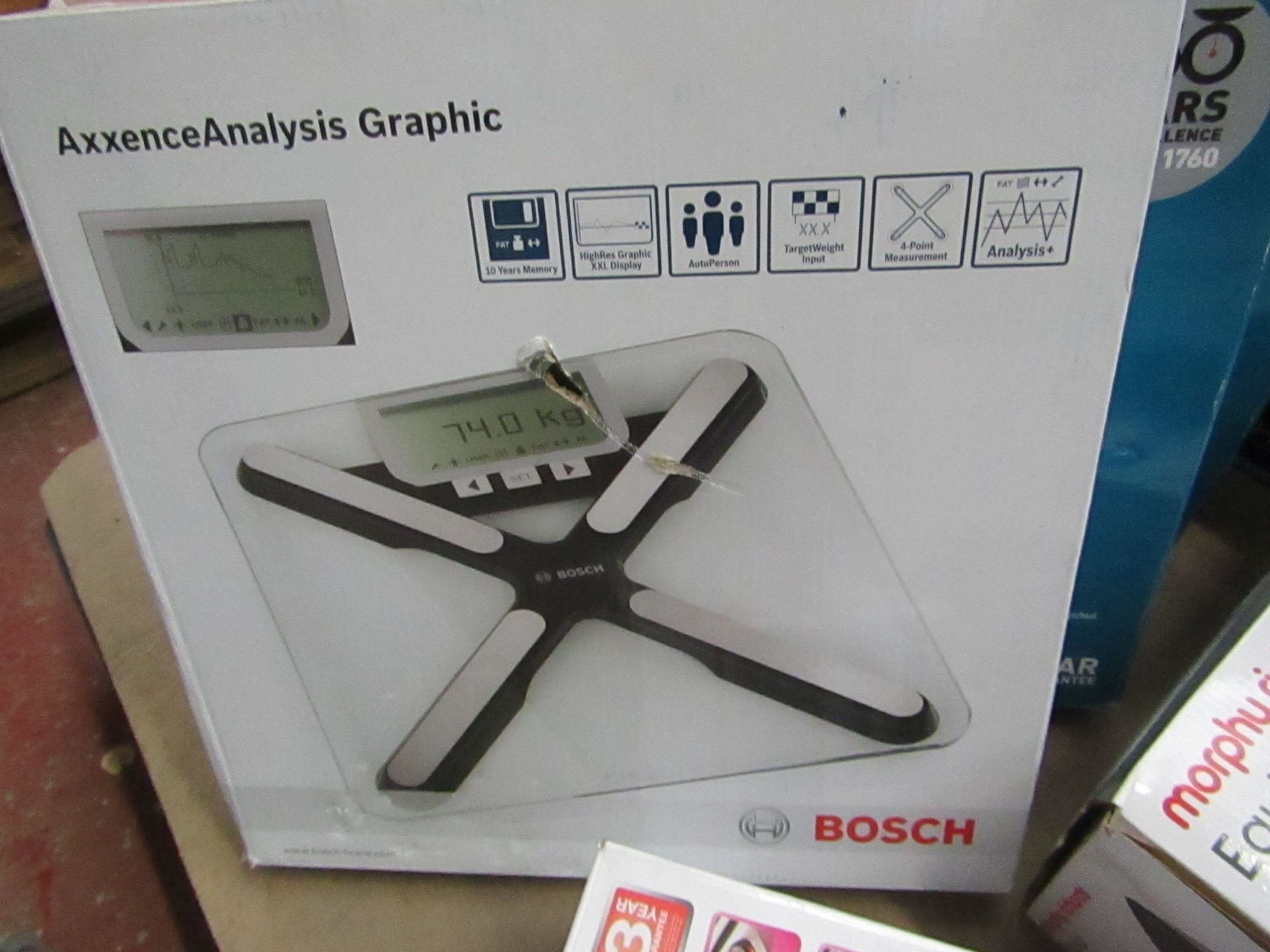 Lot 79 - Bosch graphic analysis scales, untested and boxed.