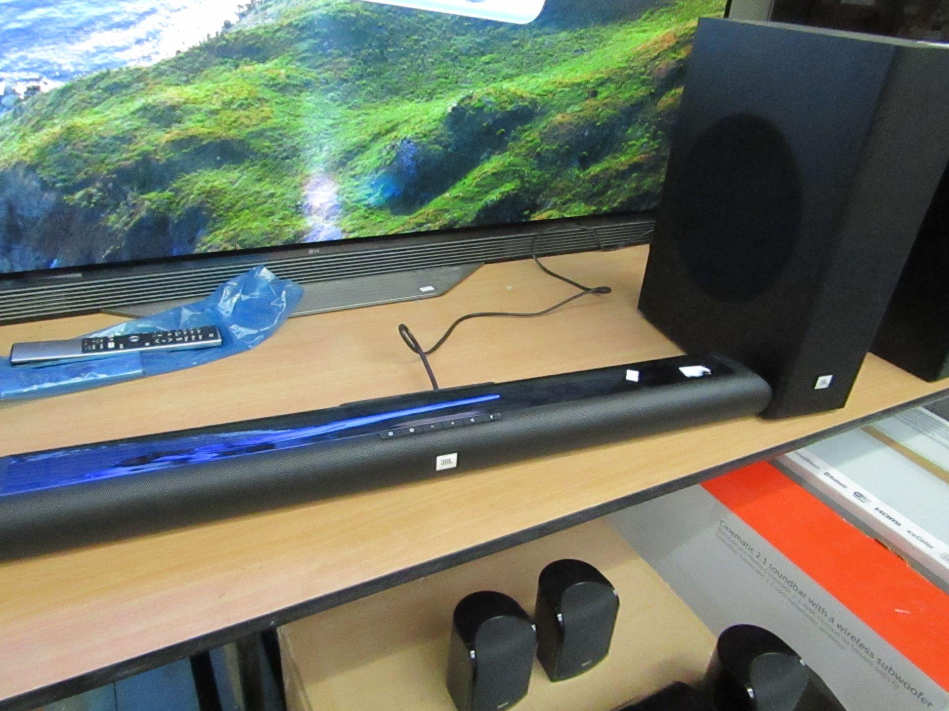 Lot 88 - JBL SB150 Home cinema soundbar £149.00, Boxed