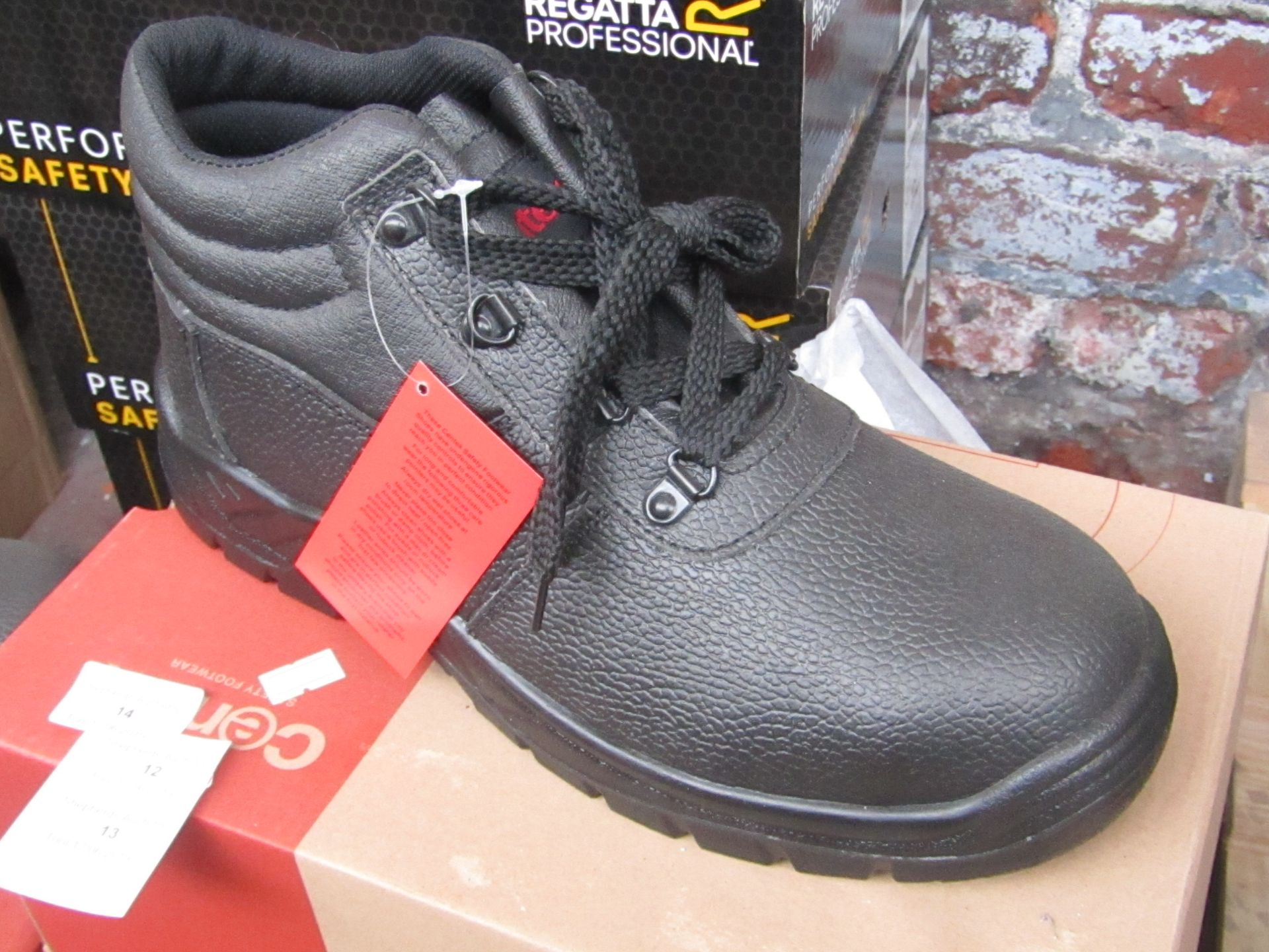Lot 13 - Centek, safety footwear, size UK 10, boxed and new