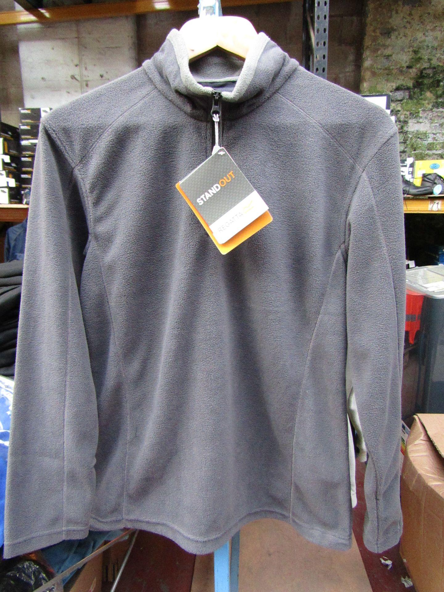 Lot 30 - Ladies Regatta Professional Fleece Seal Grey / Smoke. Size 10. new in Packaging