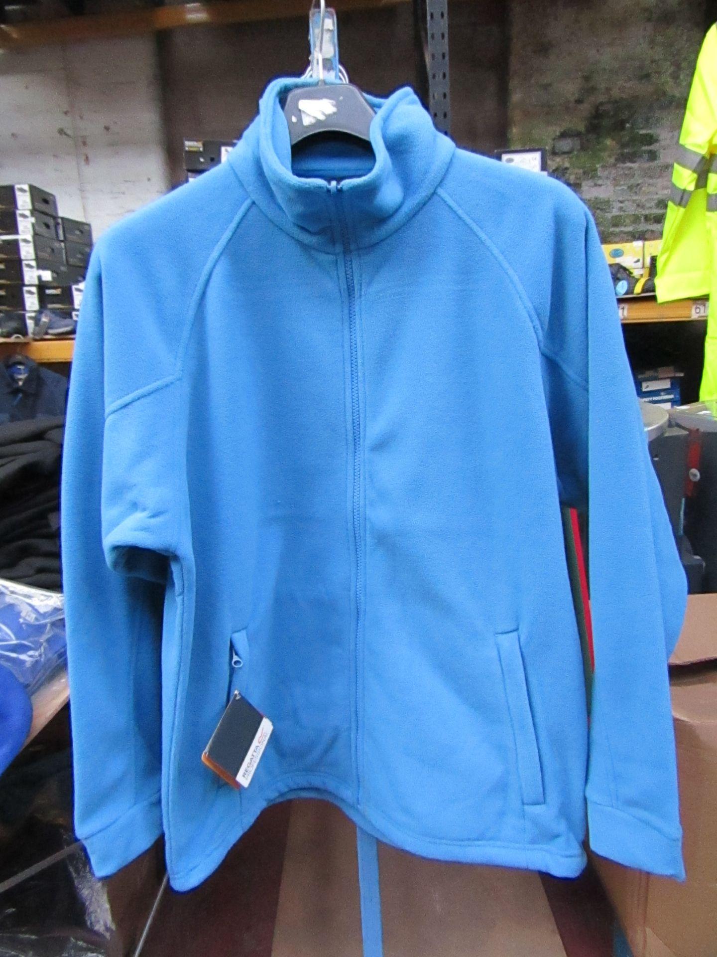 Lot 2 - Men's Regatta Professional Fleece Coastal Blue. Size S. new in Packaging