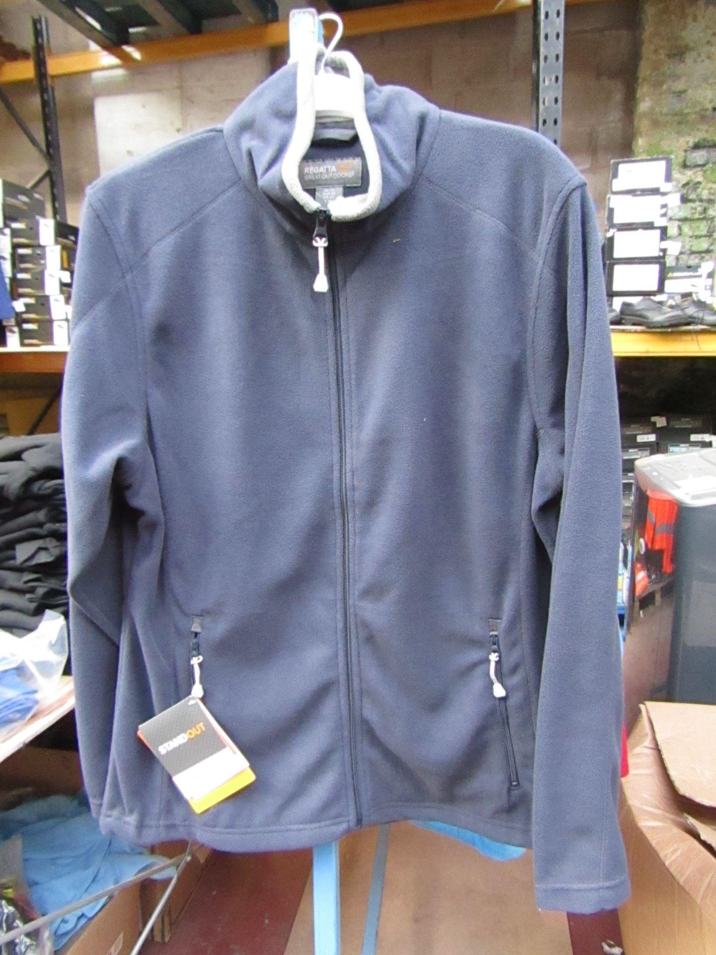 Lot 44 - Ladies Regatta Professional Fleece Navy / Smoke. Size 14. new in Packaging