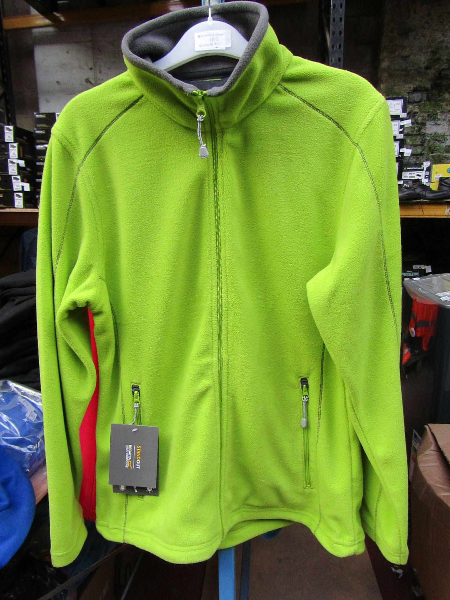 Lot 16 - Ladies Regatta Professional Fleece Key Lime / Smoke. Size 10. new in Packaging