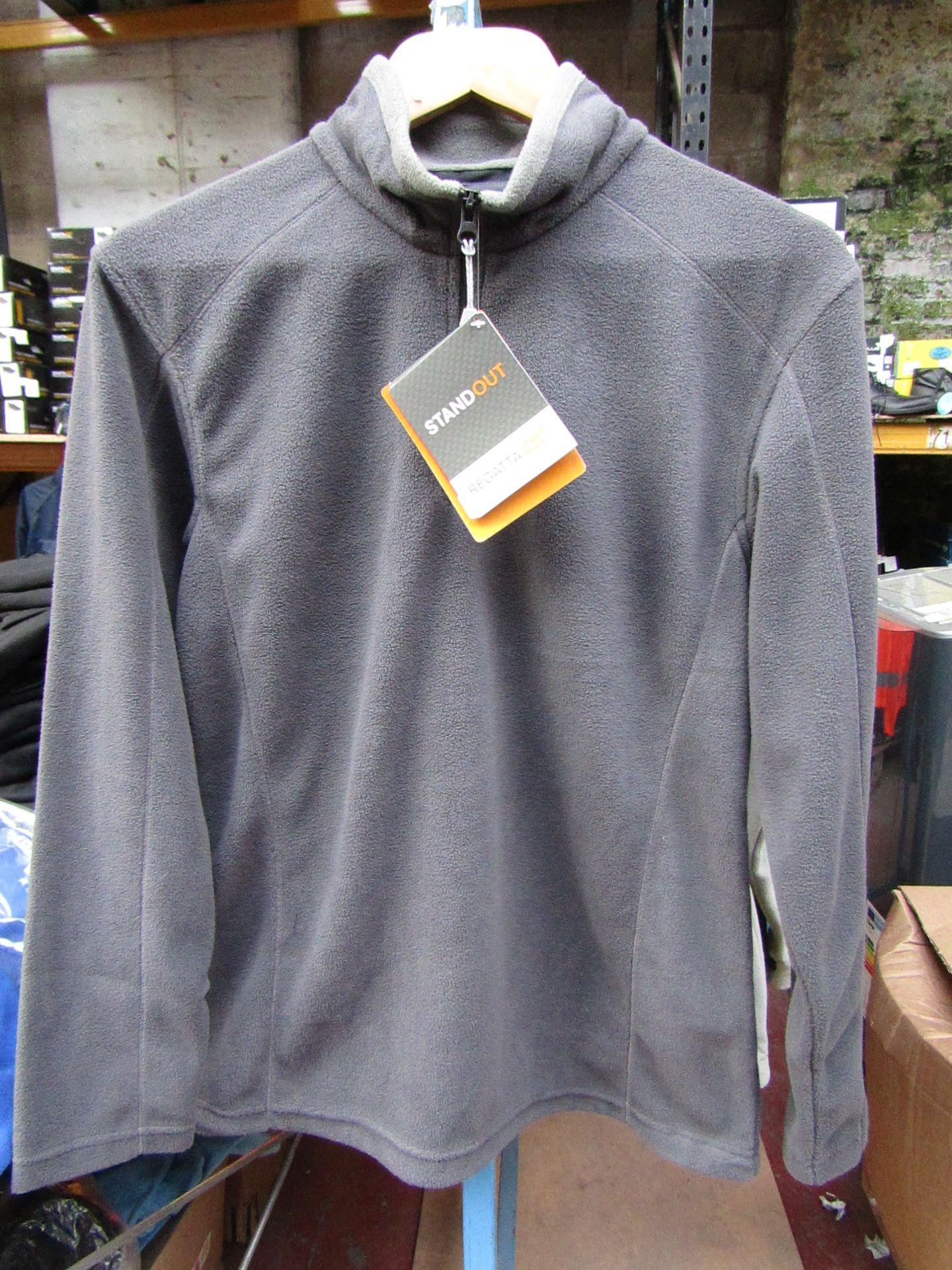 Lot 33 - Ladies Regatta Professional Fleece Seal Grey / Smoke. Size 14. new in Packaging