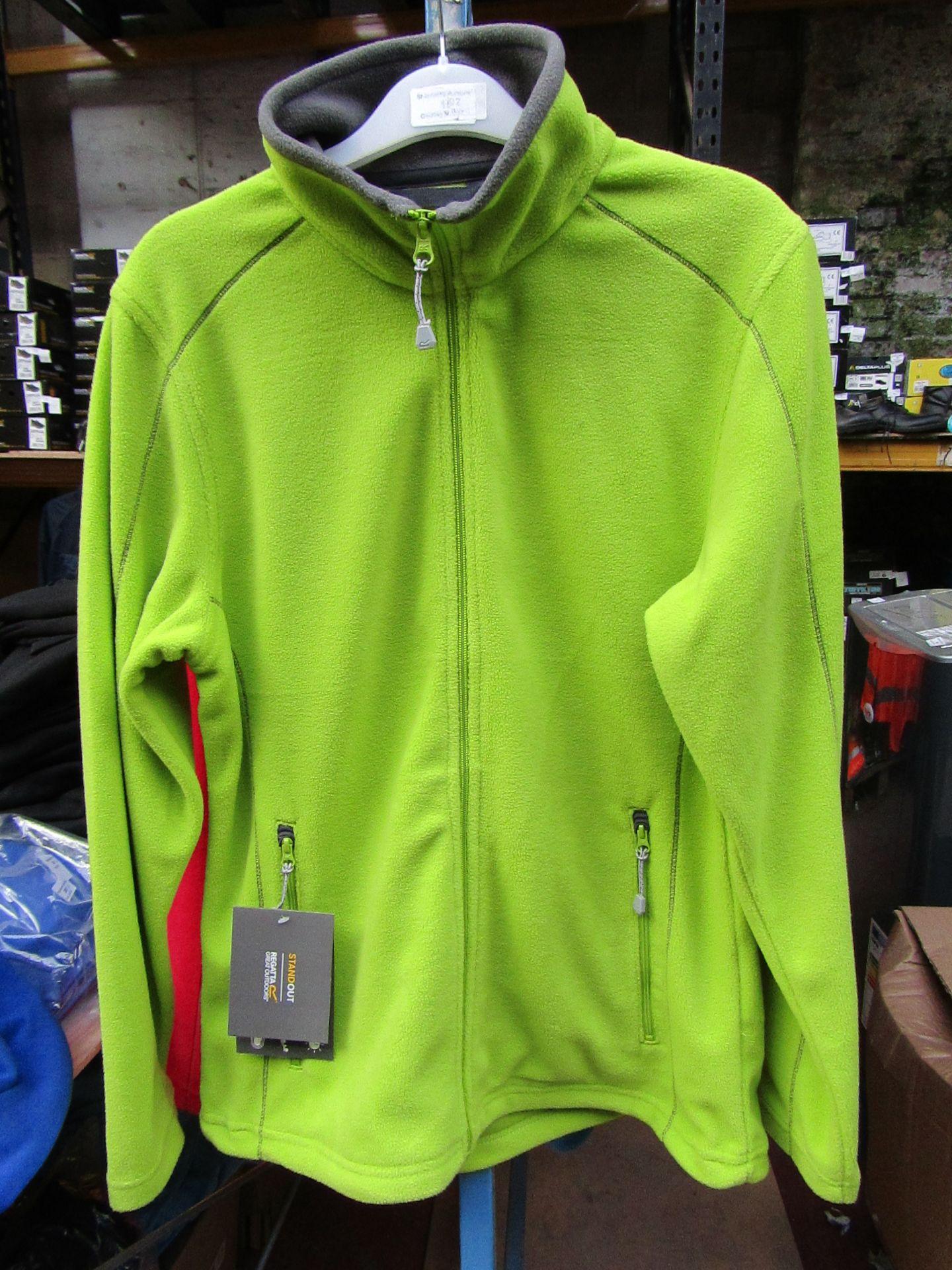 Lot 19 - Ladies Regatta Professional Fleece Key Lime / Smoke. Size 12. new in Packaging