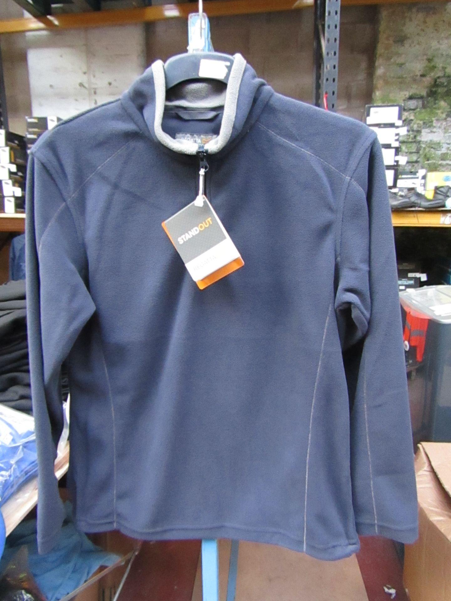 Lot 12 - Men's Regatta Professional Fleece Navy Blue / Smoke. Size XS. new in Packaging