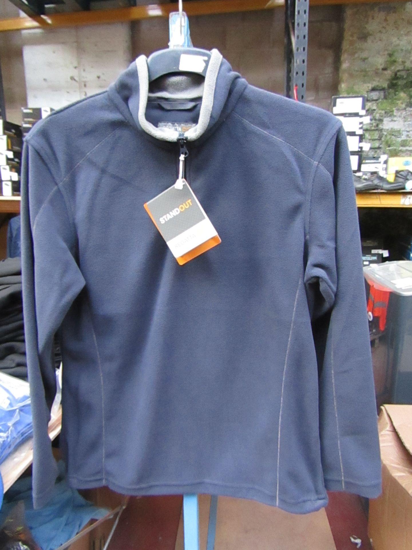 Lot 11 - Men's Regatta Professional Fleece Navy Blue / Smoke. Size XS. new in Packaging