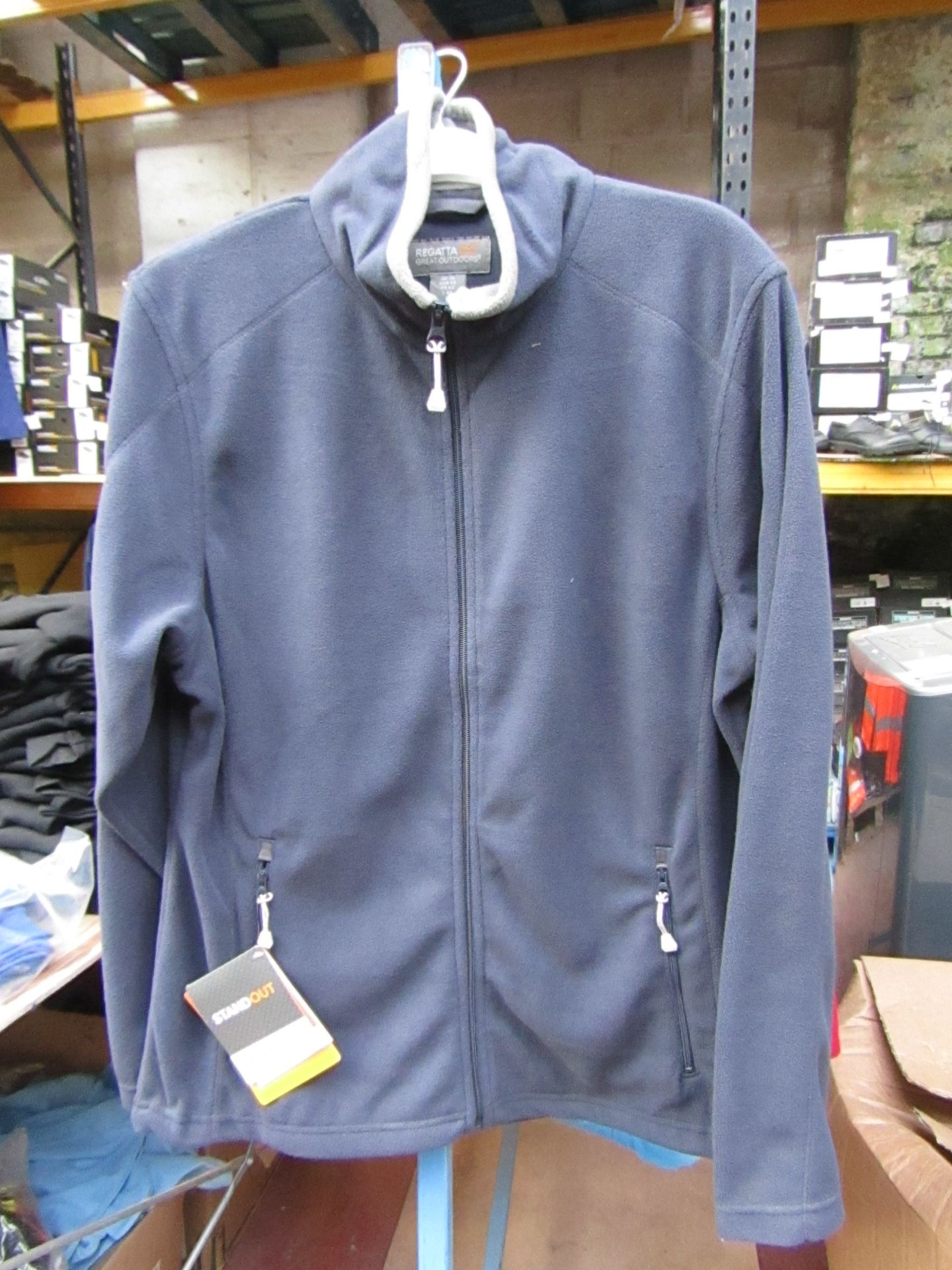 Lot 37 - Ladies Regatta Professional Fleece Navy / Smoke. Size 12. new in Packaging