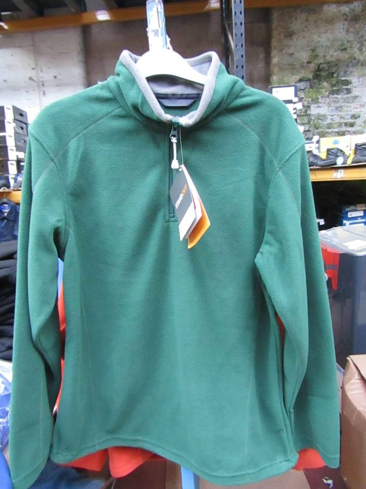 Lot 54 - Ladies Regatta Professional Fleece Bottle Green / Smoke. Size 14. new in Packaging
