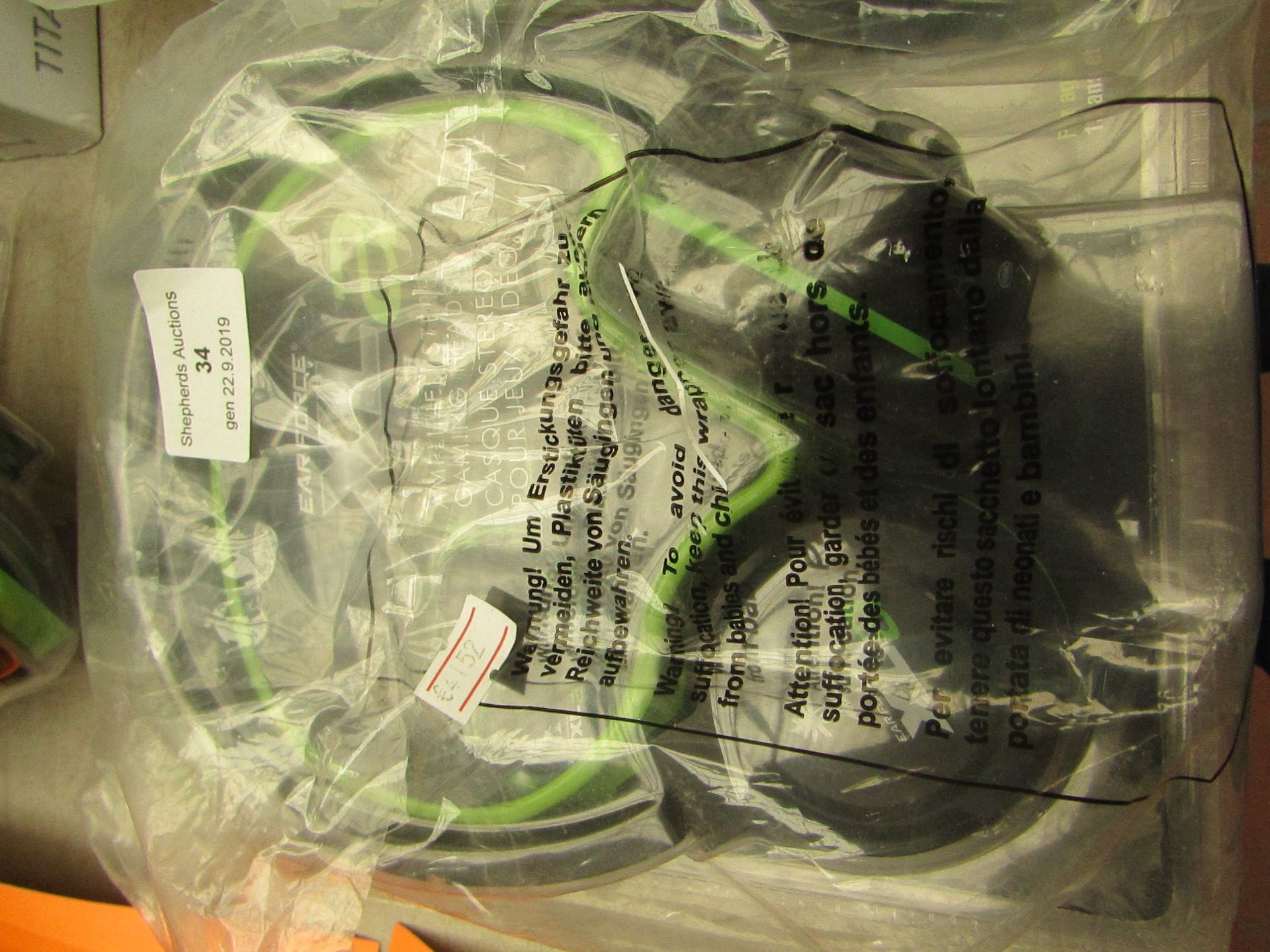 Lotto 34 - Turtle Beach XLA Amplified Stereo Gaming Headset - Xbox 360 Unchecked
