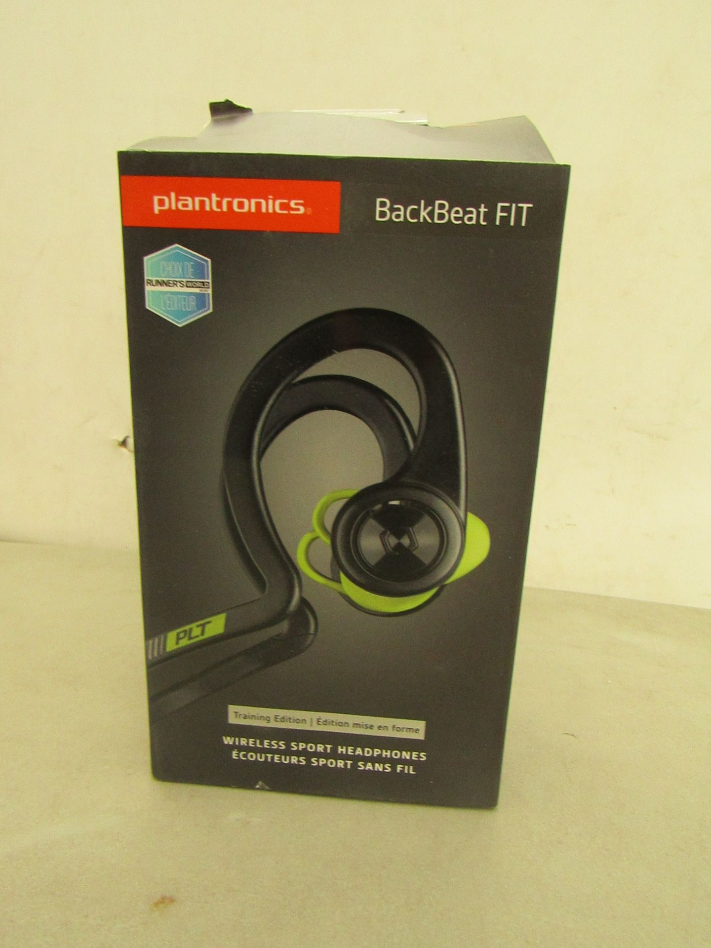 Lotto 31 - Plantronics Backbeat Fit Headphones RRP £84.89, Unchecked and Boxed