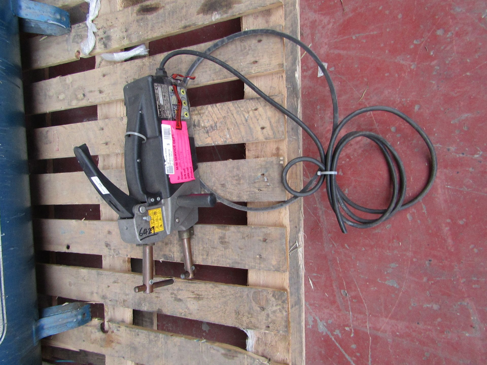 Lot 456 - CLARKE WELD CSW13T 230V £549.00 6429 This lot is a Machine Mart product which is raw and