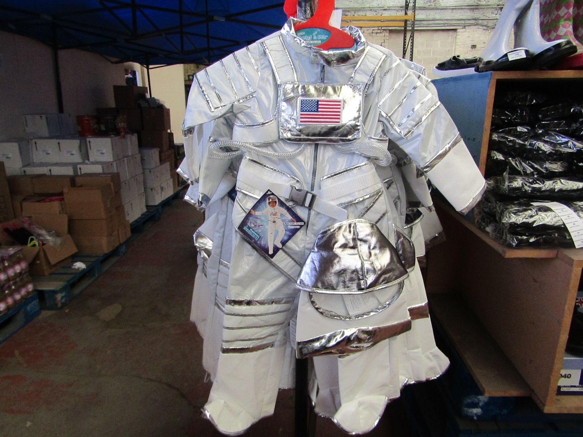 Lot 6 - Adventure Factory Astronaut Fancy Dress age 3/4 yrs RRP £24.99 new with tags