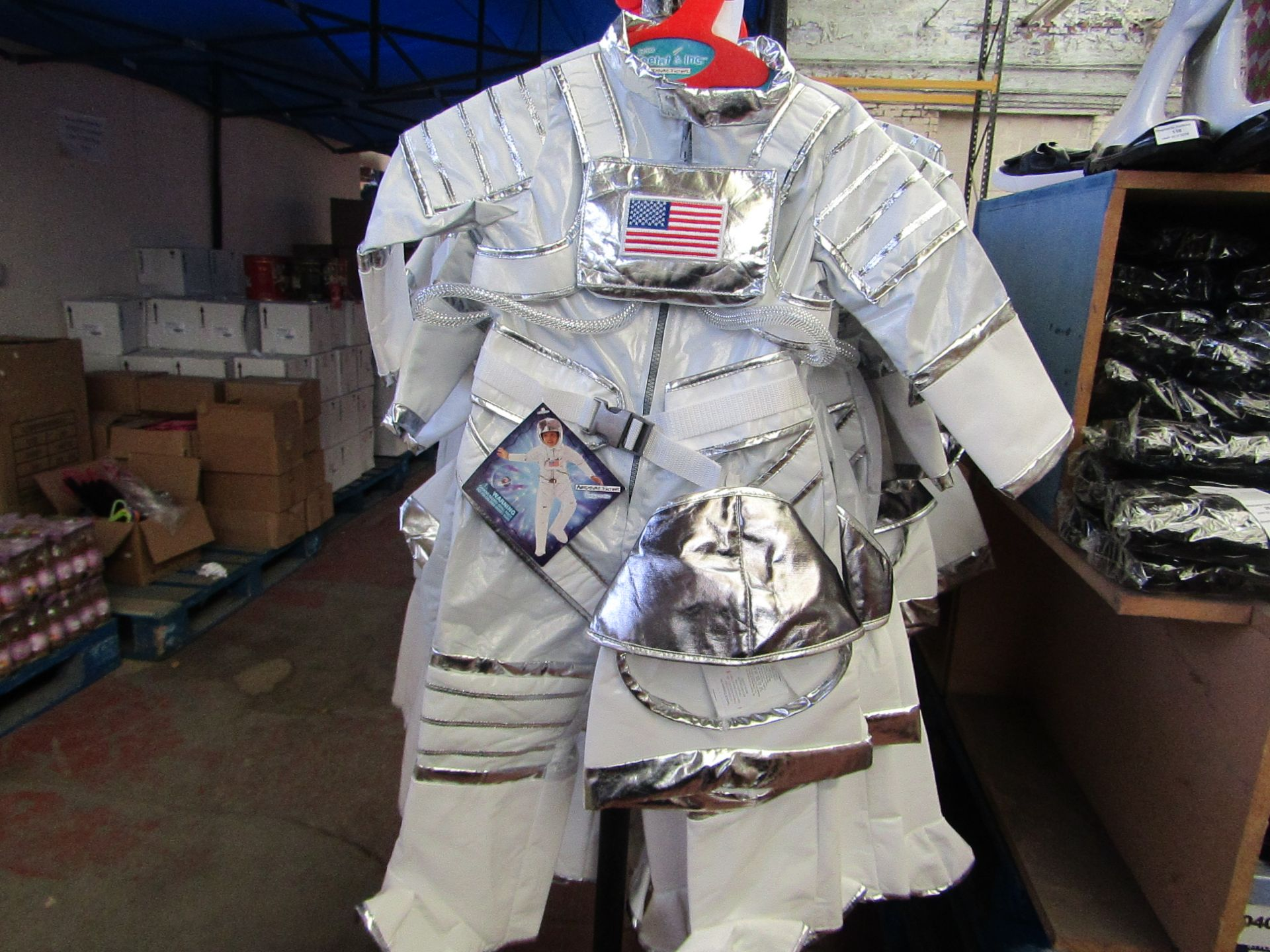 Lot 24 - Adventure Factory Astronaut Fancy Dress age 5/6 yrs RRP £24.99 new with tags
