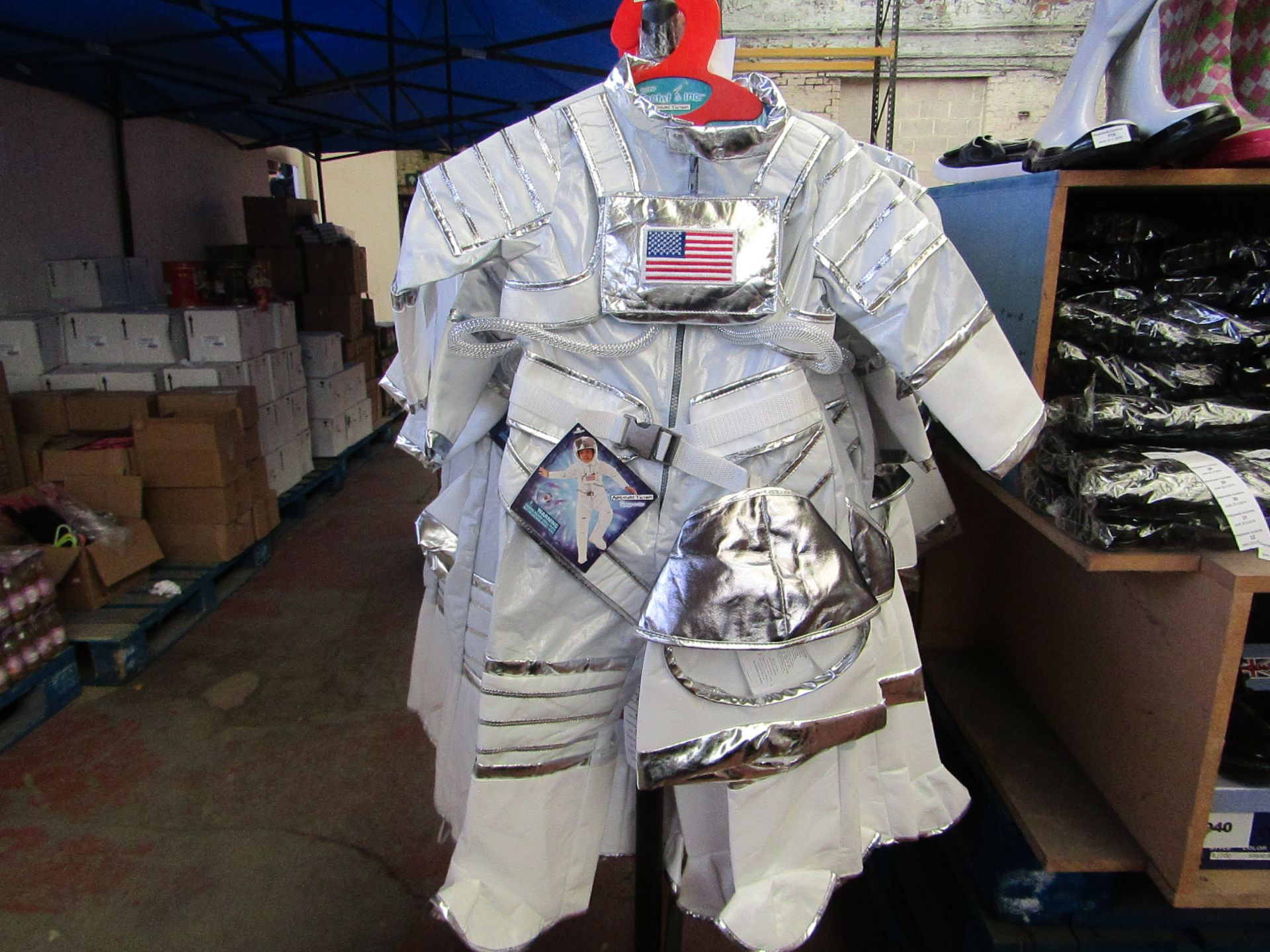 Lot 2 - Adventure Factory Astronaut Fancy Dress age 3/4 yrs RRP £24.99 new with tags