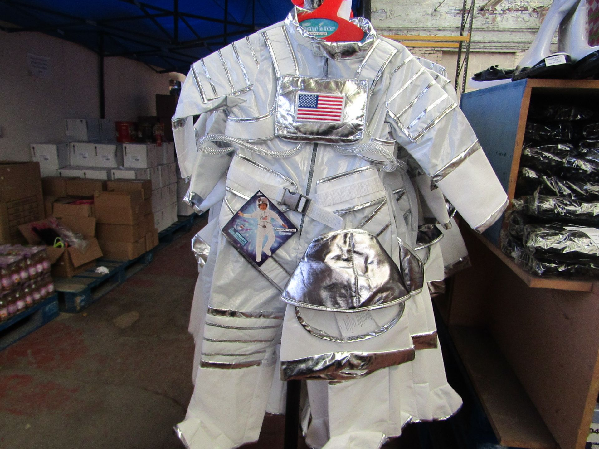 Lot 25 - Adventure Factory Astronaut Fancy Dress age 5/6 yrs RRP £24.99 new with tags
