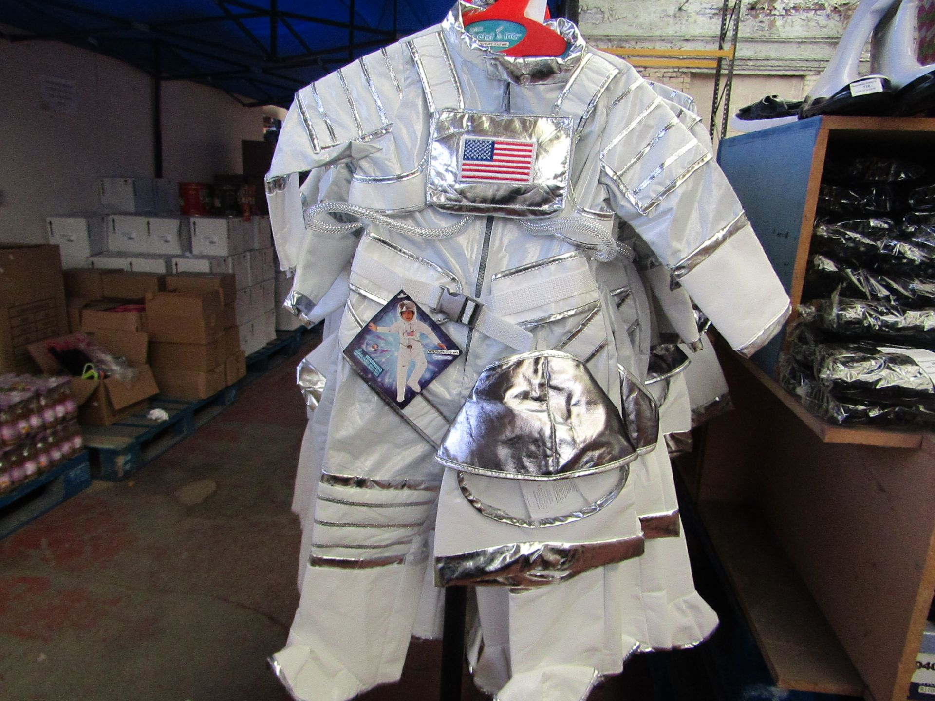 Lot 22 - Adventure Factory Astronaut Fancy Dress age 5/6 yrs RRP £24.99 new with tags