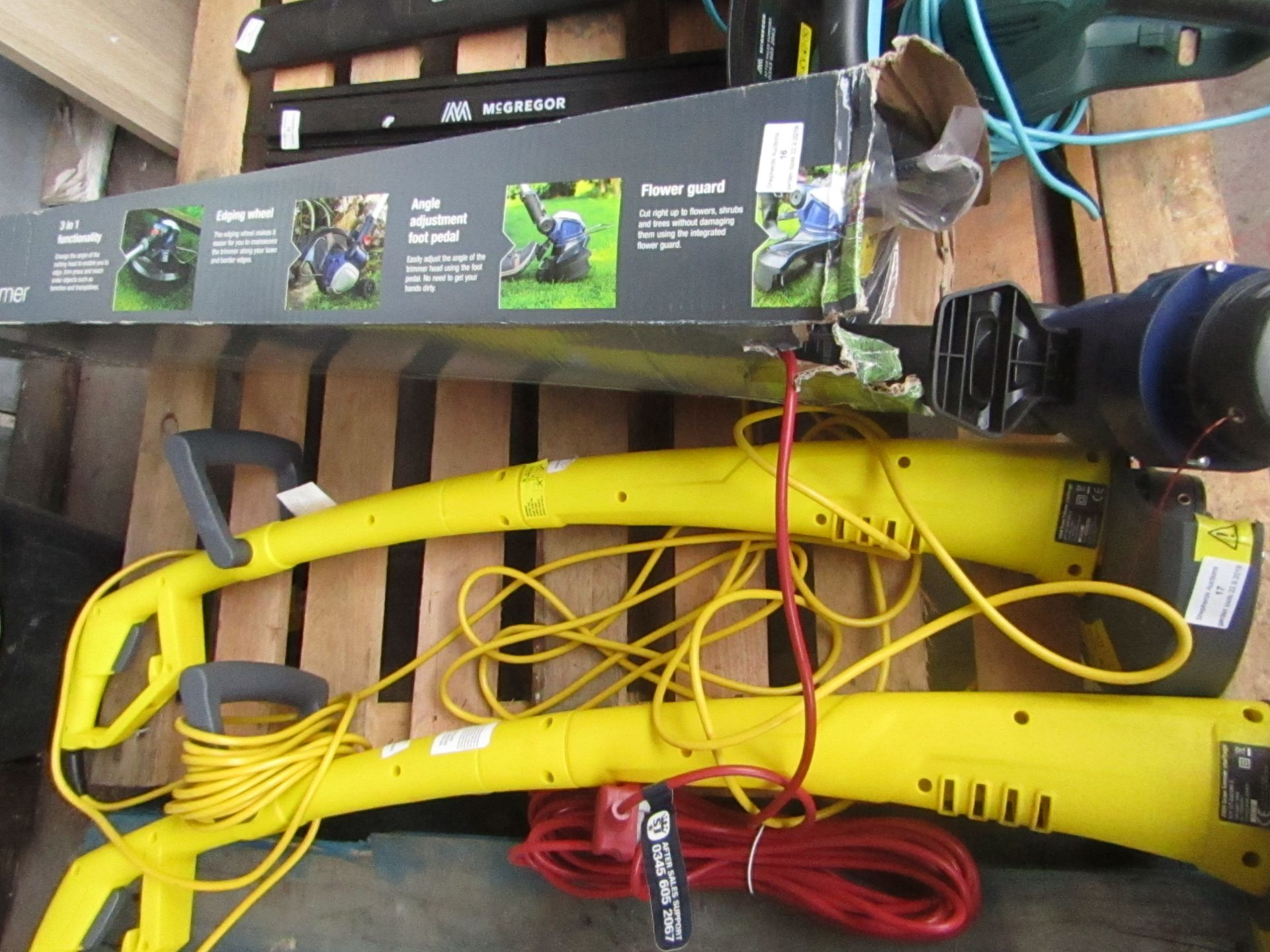 Lotto 17 - Challenge Grass Strimmer, tested working