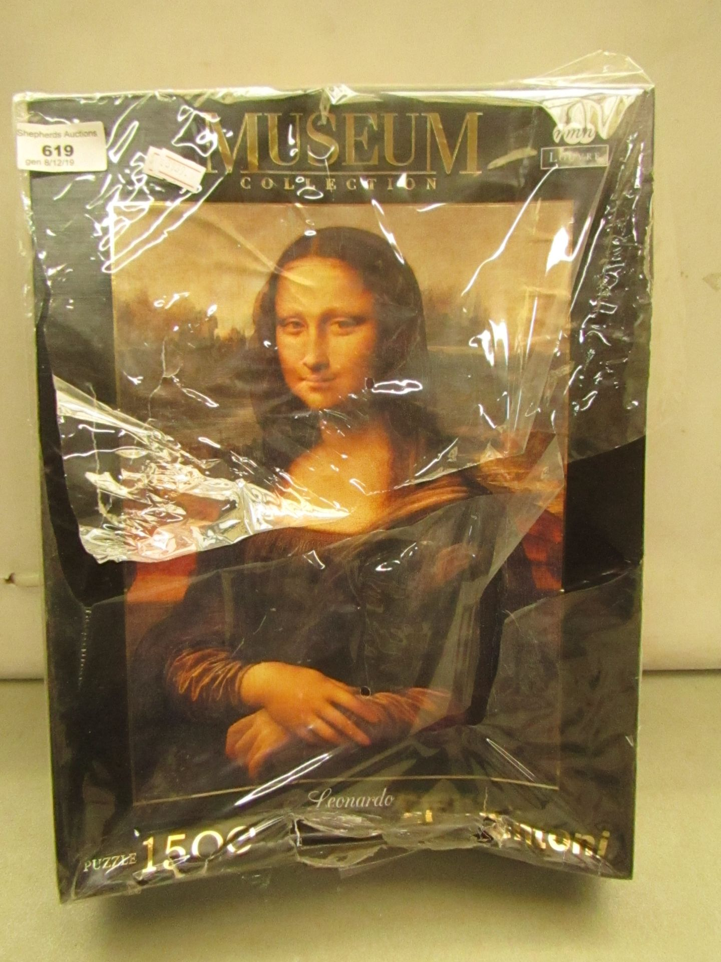 Lot 619 - Mona Lisa Jigsaw 1500 pieces unchecked