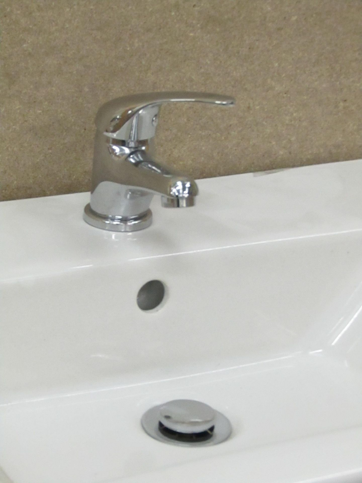 Lot 54 - Unbranded Roca Mono Block Sink tap with Click Clack Waste, new.Sink not included
