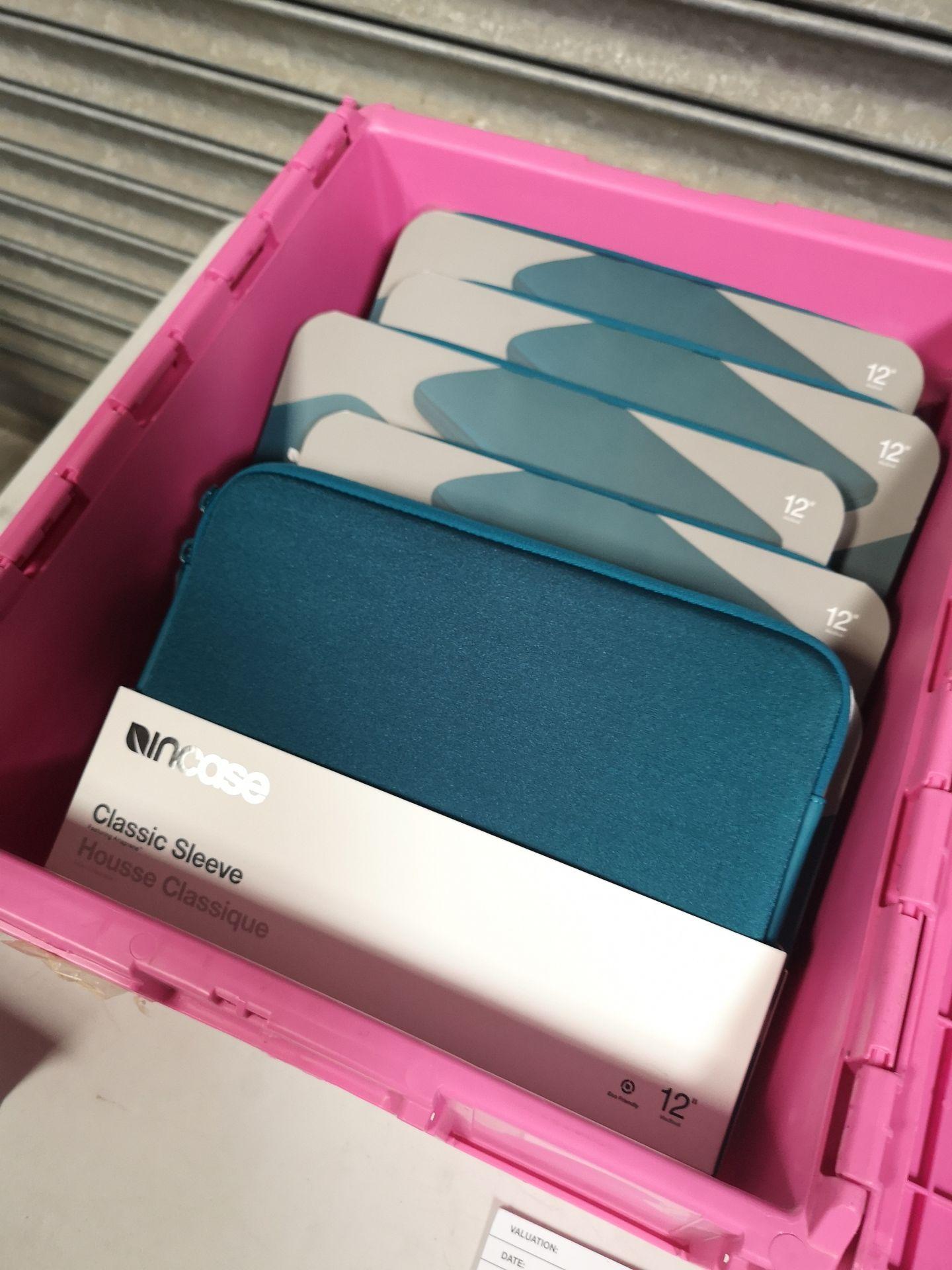 """Lot 035 - (8) InCase 12"""" Macbook Neoprene Cases"""