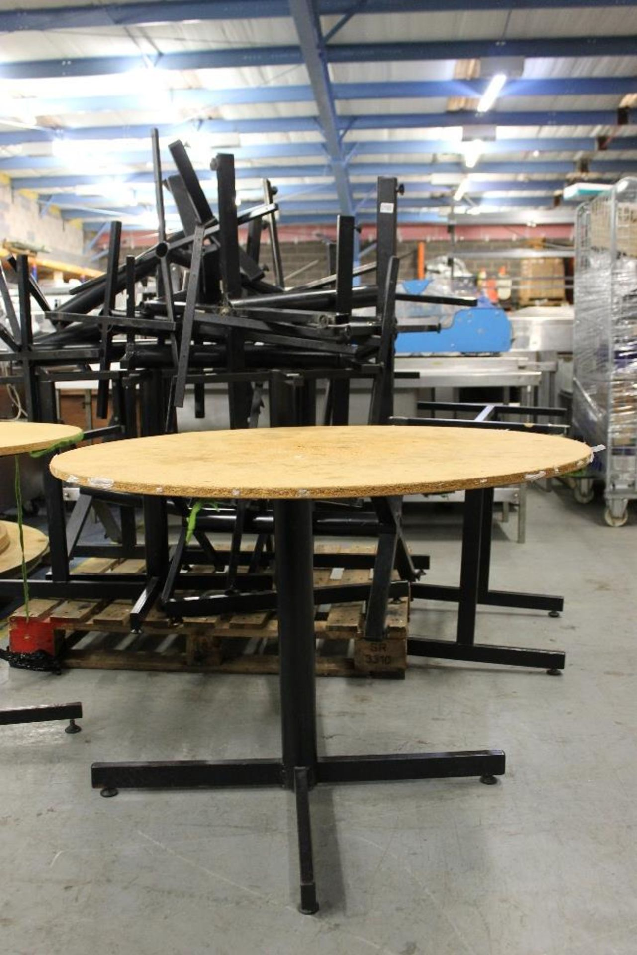 Lot 5 - Job Lot of Banqueting Tables to be sold as 1 Lot – 27 in Total - 3 Sizes 4 x Large-10 Medium & 14