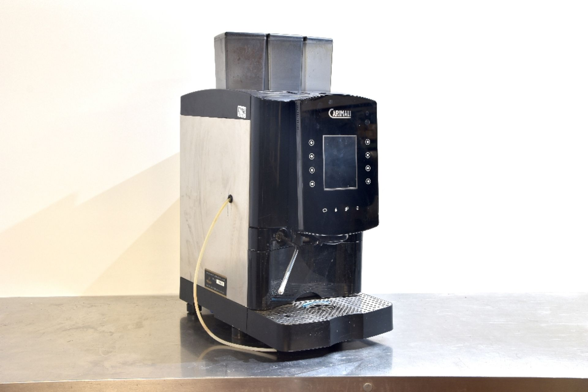 Lot 28 - Carimali Solar Touch Drinks Machine – Bean to cup Coffee + Chocolate & Other Drinks  The Carimali