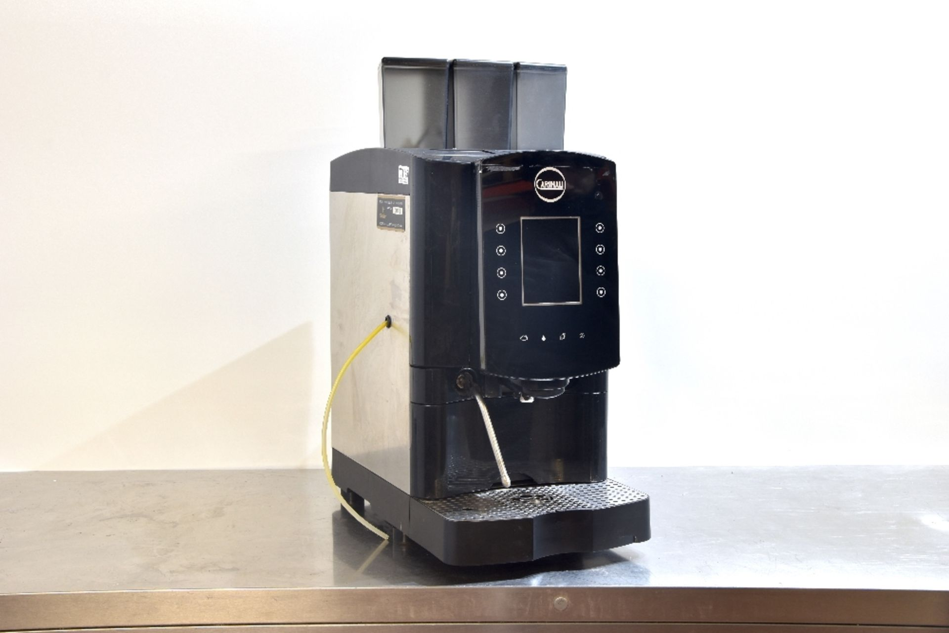 Lot 34 - Carimali Solar Touch Drinks Machine – Bean to cup Coffee + Chocolate & Other Drinks The Carimali