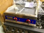 Lot 15A - New Two Burner Gas Hotplate / Griddle – Nat Gas or LPG Gas -NO VAT