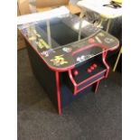 Lot 27 - Brand New Space Invaders Machine with 60 Classic Arcade Games Installed – PAC-Man, Donkey Kong