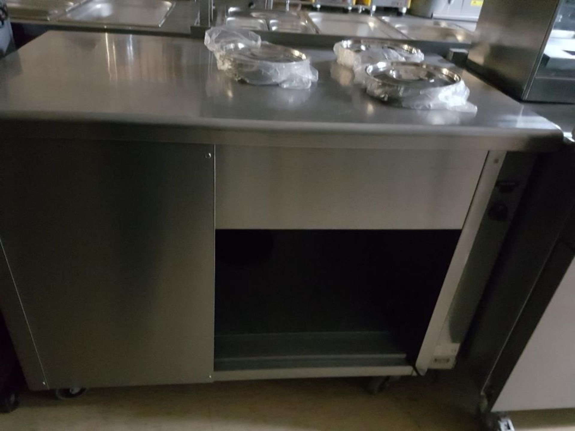 Lot 42 - Victor Stainless Steel 3 Pot Dry Well Bain Marie -W1200mm x H900mm x D700mm – Fully Serviced –
