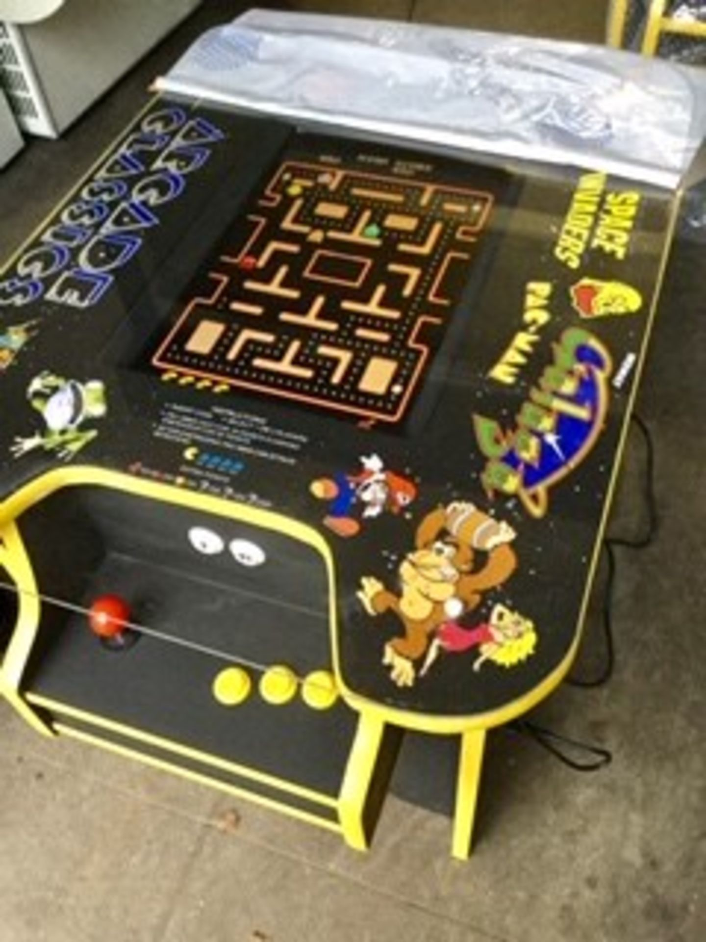 Lot 24A - Table Top Arcade Machine – Brand New – 60 Games – NO VAT