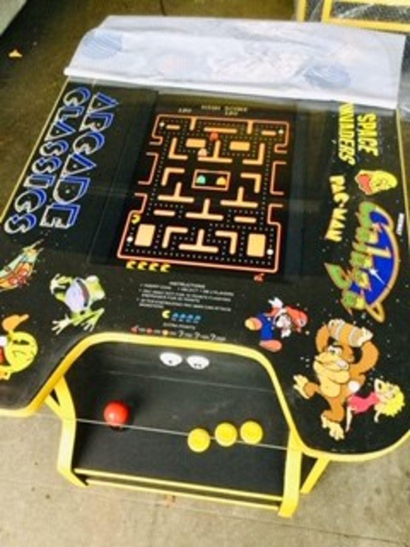 Lot 24 - Table Top Arcade Machine – Brand New – 60 Games – NO VAT