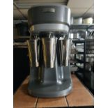 Lot 34 - Hamilton Beach Three Cup Milk Shake Machine – with 3 New Stainless-Steel Cups – Excellent Condition