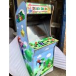 Lot 25 - Brand New Coin Operated Super Mario Arcade Machine with 3500 Games from 80's & 90's – NO VAT