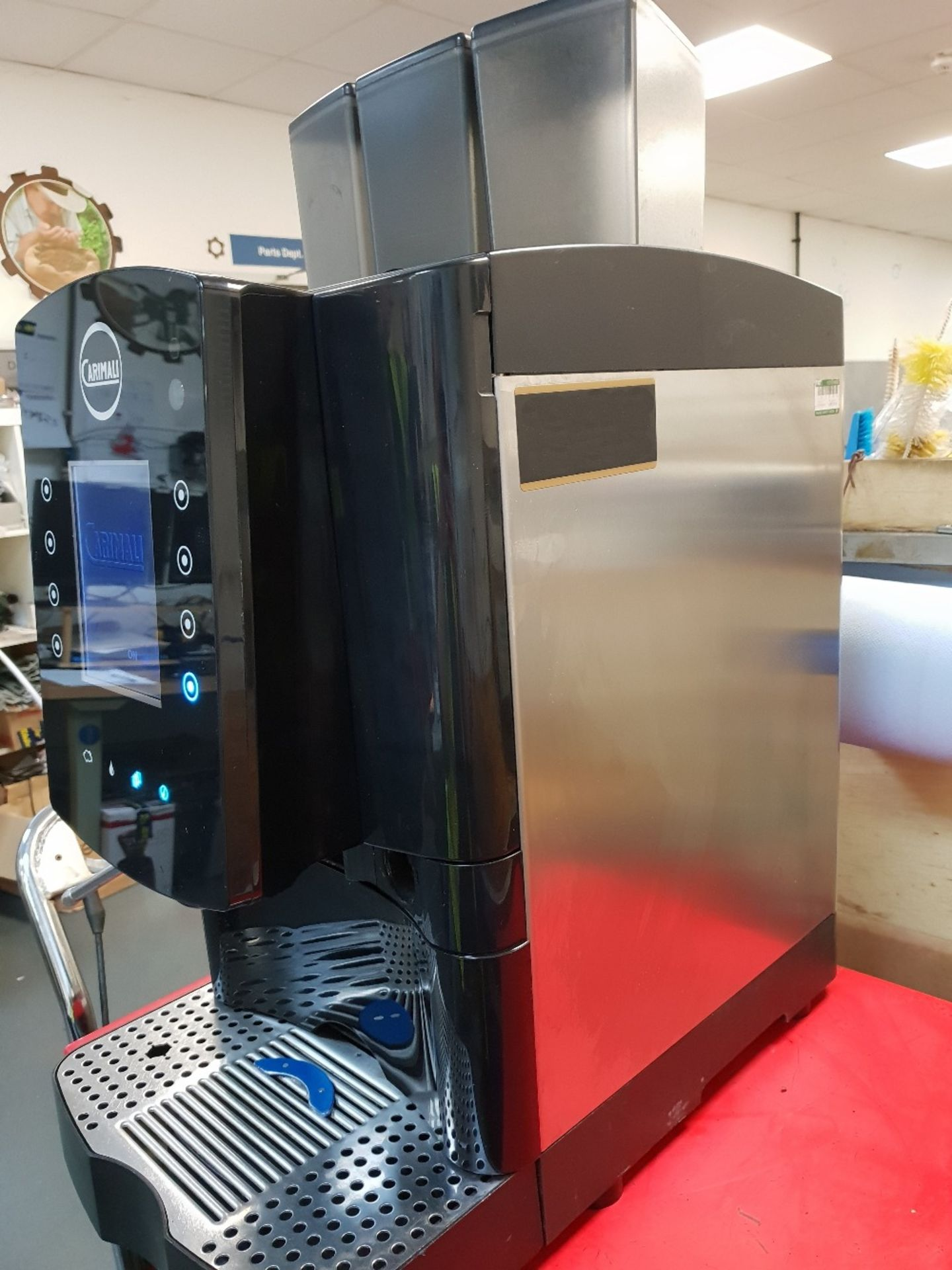 Lot 70 - Carimali Solar Touch Drinks Machine – Bean to cup Coffee + Chocolate & Other DrinksThe Carimali