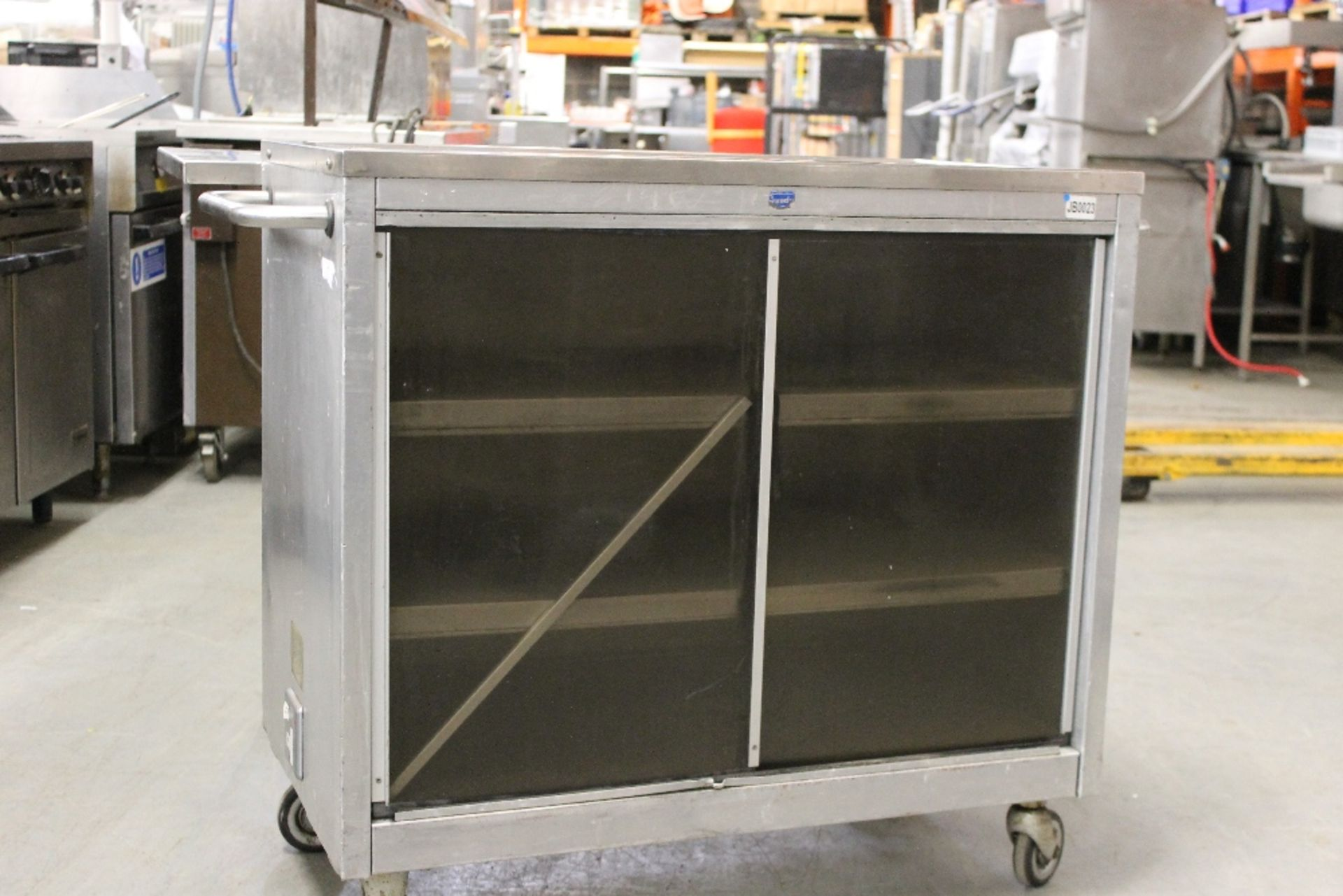 Lot 53 - Grundy Mobile Unit with Storage